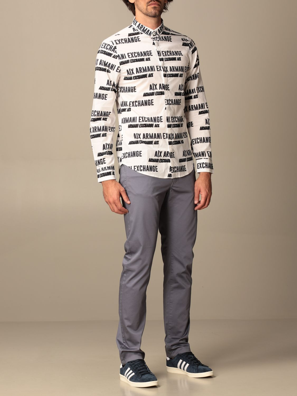 Shirt Armani Exchange: Shirt men Armani Exchange white 2
