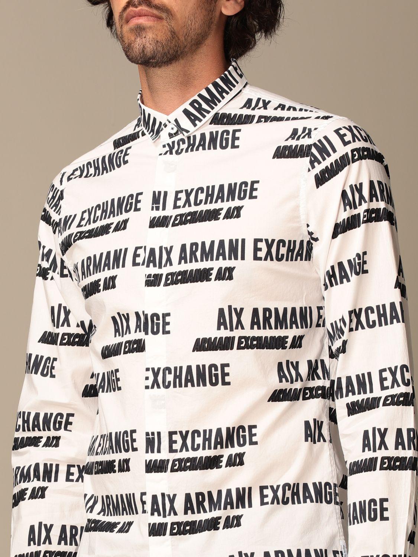 Shirt Armani Exchange: Shirt men Armani Exchange white 4