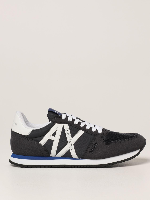 Спортивная обувь Armani Exchange: Обувь Мужское Armani Exchange темно-синий 1