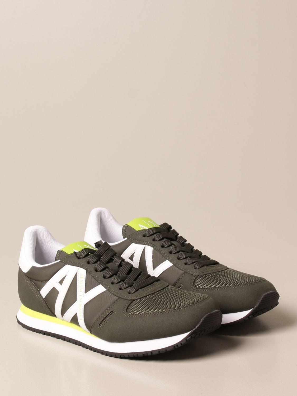 Zapatillas Armani Exchange: Zapatos hombre Armani Exchange militar 2