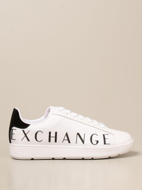 Trainers Armani Exchange: Shoes men Armani Exchange white 1