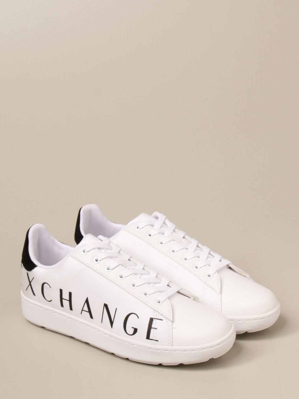 Trainers Armani Exchange: Shoes men Armani Exchange white 2