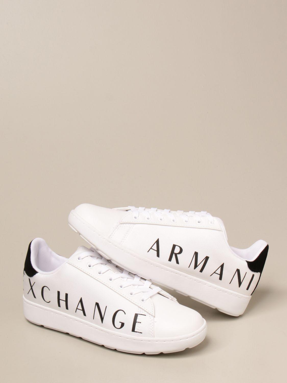 Trainers Armani Exchange: Shoes men Armani Exchange white 4