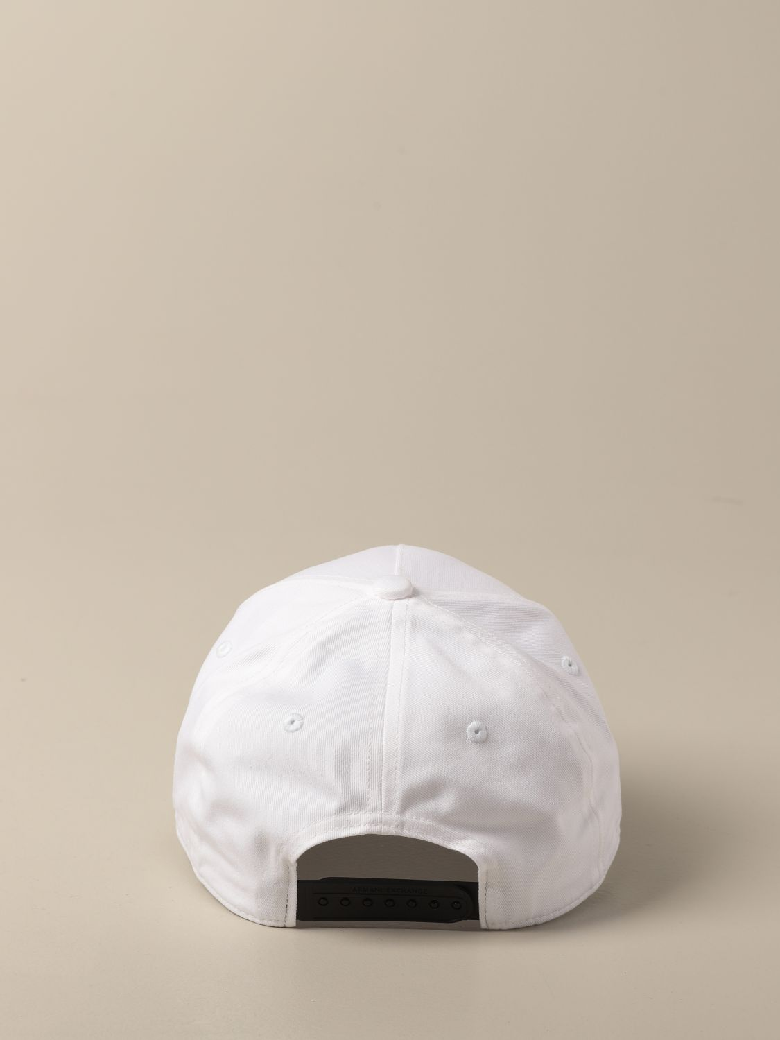 Hat Armani Exchange: Hat men Armani Exchange white 3