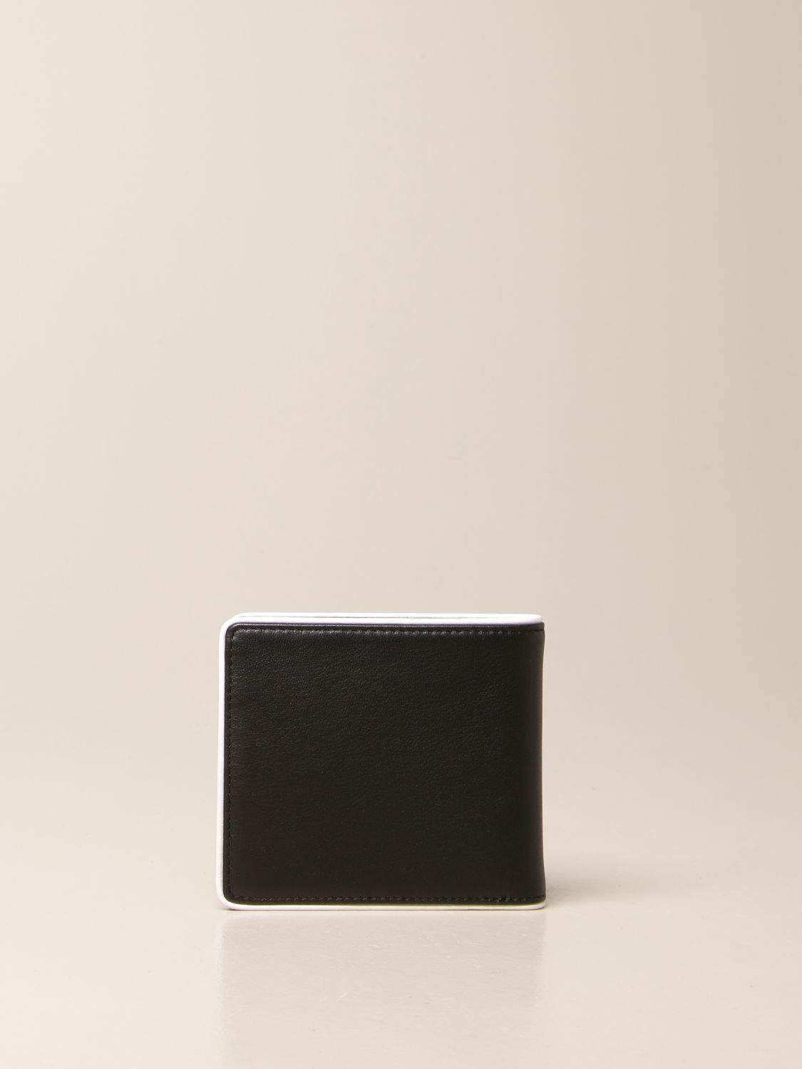 Wallet Armani Exchange: Armani Exchange wallet in leather with logo black 3
