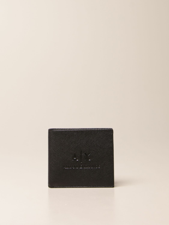 Wallet Armani Exchange: Wallet men Armani Exchange black 1