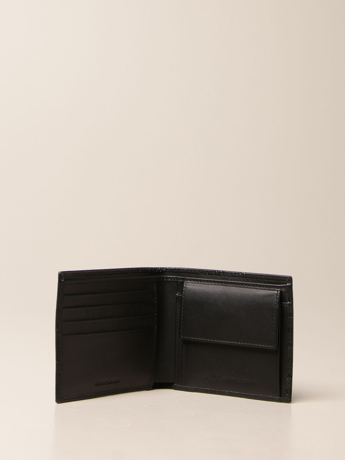 Wallet Armani Exchange: Wallet men Armani Exchange black 2