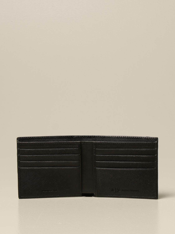 Wallet Armani Exchange: Wallet men Armani Exchange black 2