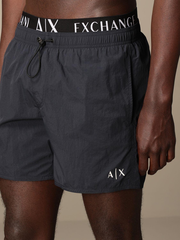 Swimsuit Armani Exchange: Armani Exchange boxer costume with logo blue 3