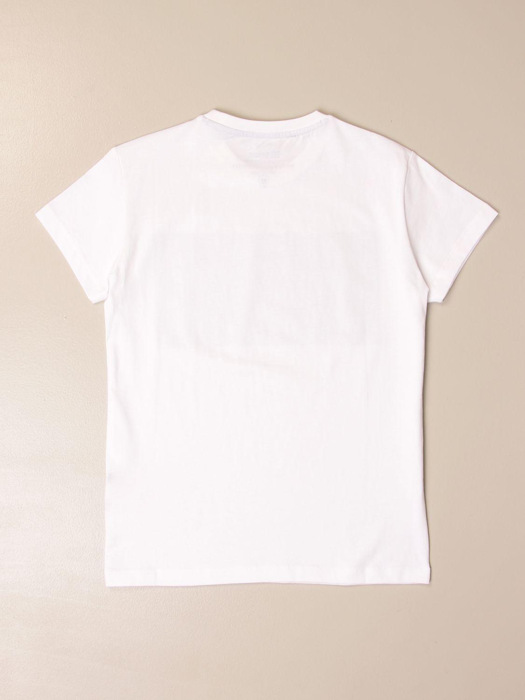Camiseta Blauer: Camiseta niños Blauer blanco 2