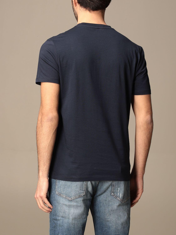 T-shirt Blauer: T-shirt Blauer in cotone basic con logo blue 2