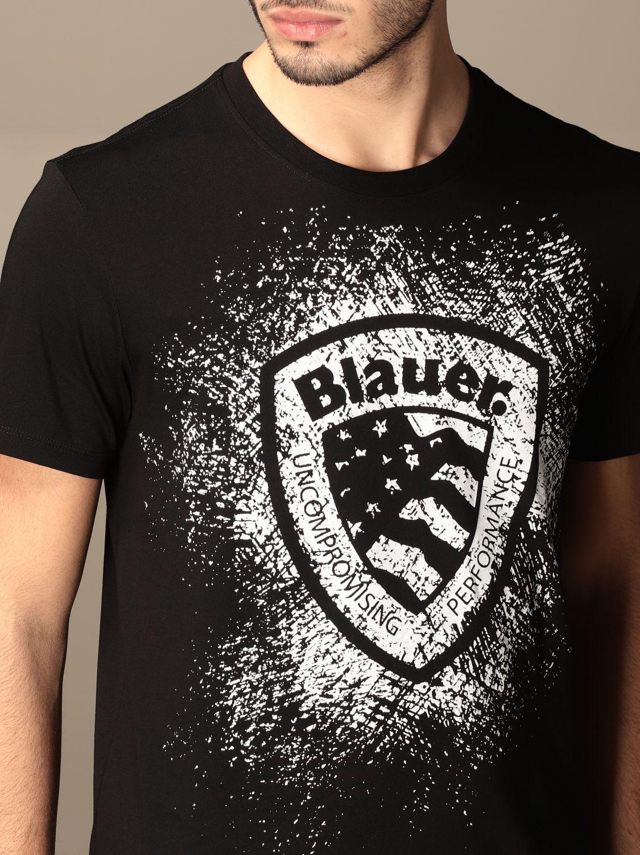 Camiseta Blauer: Camiseta hombre Blauer negro 3