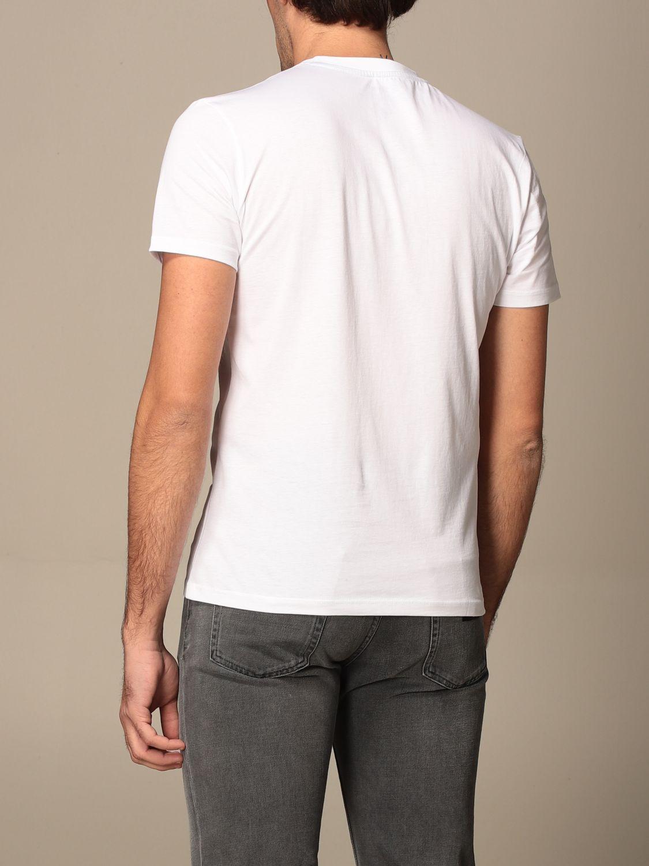 T-shirt Blauer: T-shirt men Blauer white 2