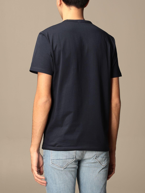 T-shirt Blauer: Blauer cotton T-shirt with logo print blue 2