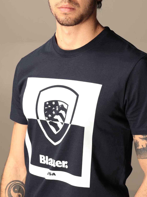 T-shirt Blauer: T-shirt men Blauer blue 3