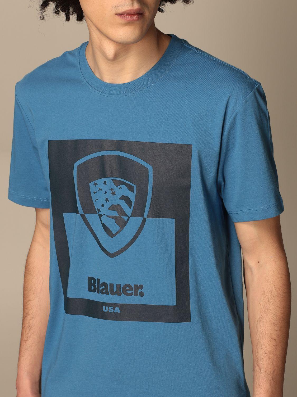 T-shirt Blauer: T-shirt men Blauer blue 1 3