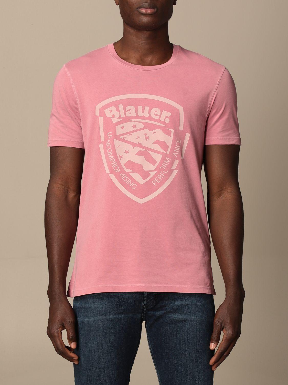 T-shirt Blauer: T-shirt men Blauer pink 1