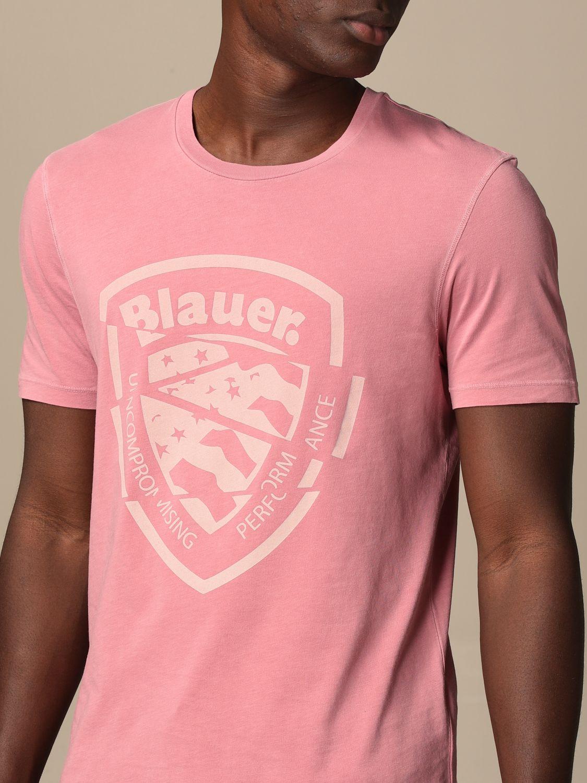 T-shirt Blauer: T-shirt men Blauer pink 3