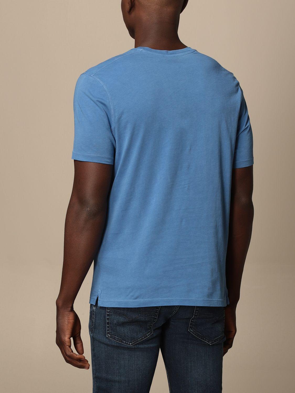 T-shirt Blauer: T-shirt homme Blauer bleu azur 2