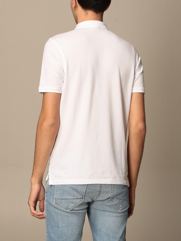 Polo Blauer: Polo Blauer in cotone con logo bianco 2
