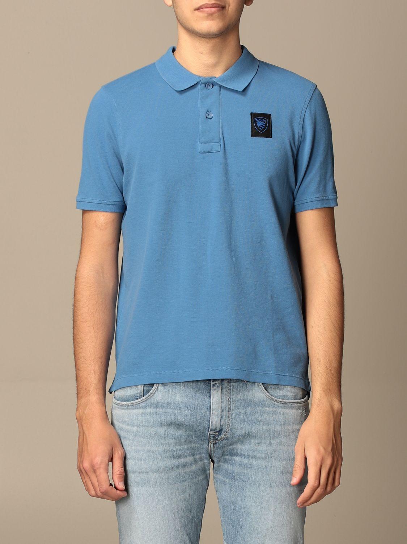 Polo Blauer: Polo homme Blauer bleu azur 1