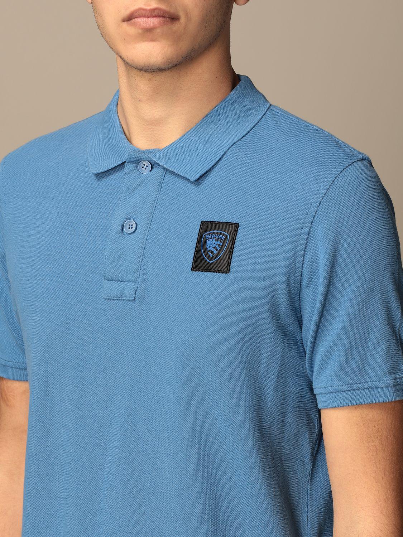 Polo Blauer: Polo homme Blauer bleu azur 3