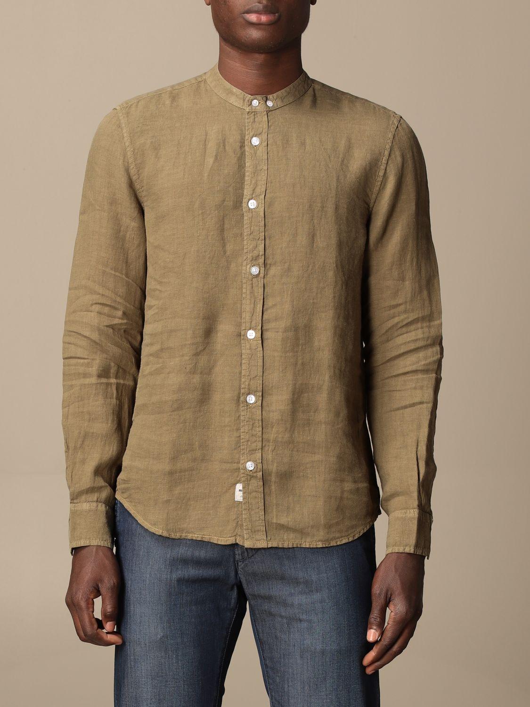 Shirt Blauer: Blauer linen shirt military 1