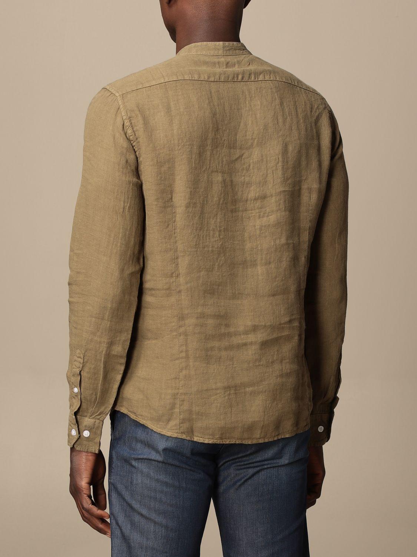 Shirt Blauer: Blauer linen shirt military 2