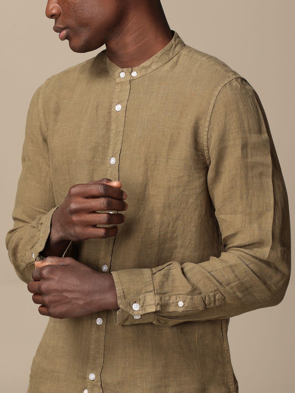 Shirt Blauer: Blauer linen shirt military 3