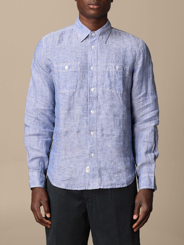 Shirt Blauer: Blauer linen shirt gnawed blue 1