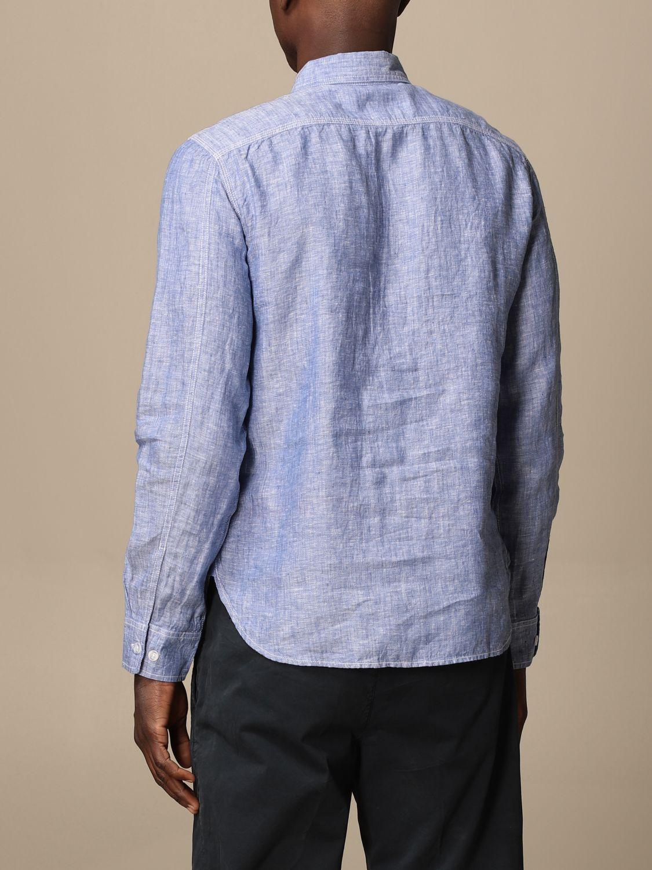 Shirt Blauer: Blauer linen shirt gnawed blue 2