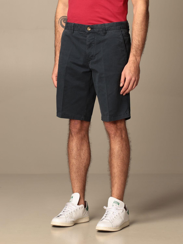 Short Blauer: Short men Blauer blue 3