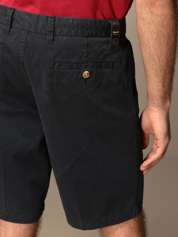 Short Blauer: Short men Blauer blue 4