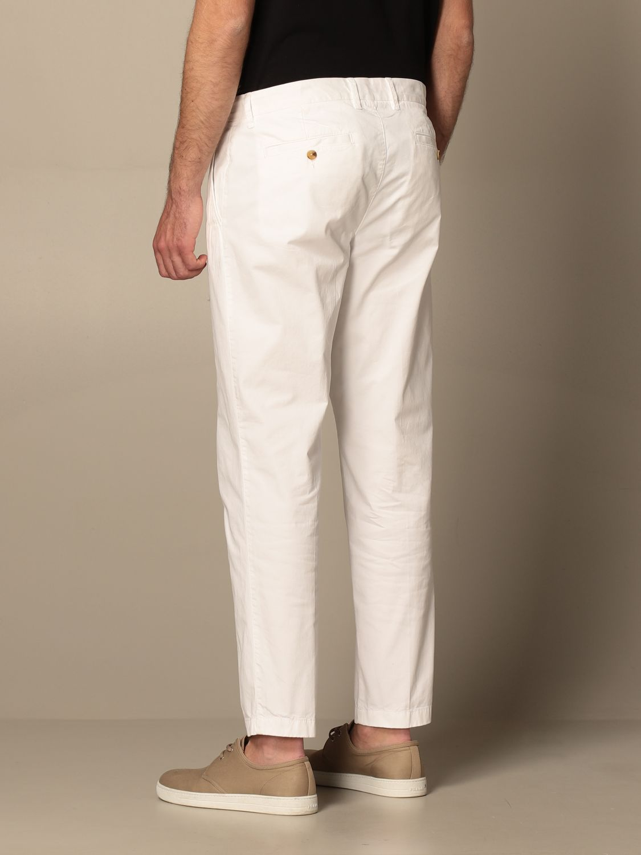 Pantalone Blauer: Pantalone chino Blauer in cotone bianco 2
