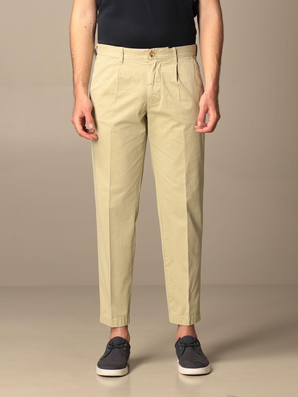 Pants Blauer: Blauer cotton chino pants beige 1
