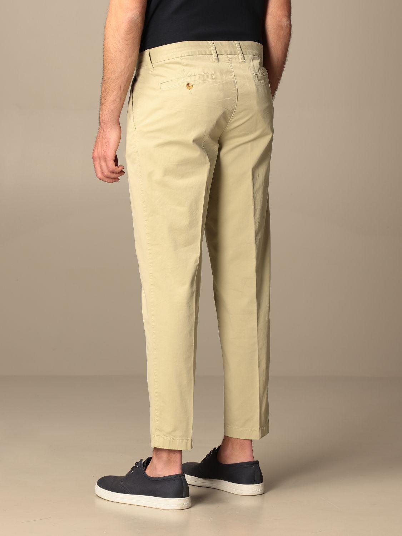 Pants Blauer: Blauer cotton chino pants beige 2