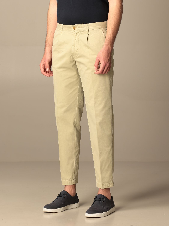 Pants Blauer: Blauer cotton chino pants beige 3