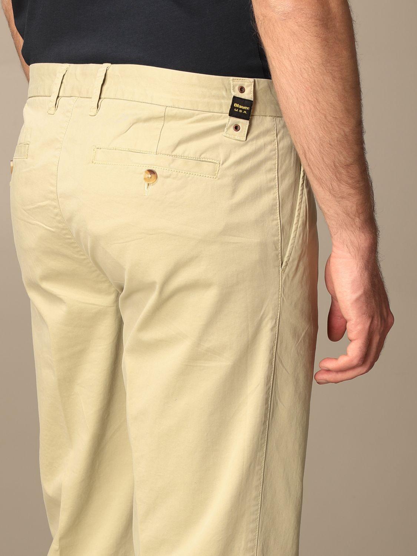 Pants Blauer: Blauer cotton chino pants beige 4