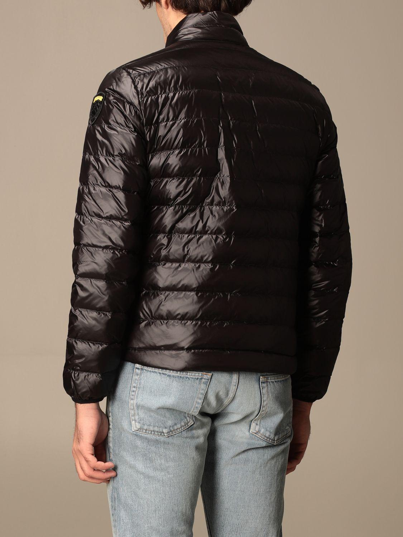 Jacket Blauer: Blauer down jacket in light basic nylon black 2