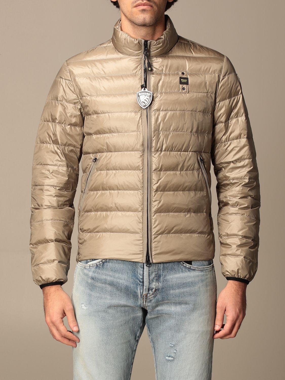 Jacket Blauer: Jacket men Blauer mud 1