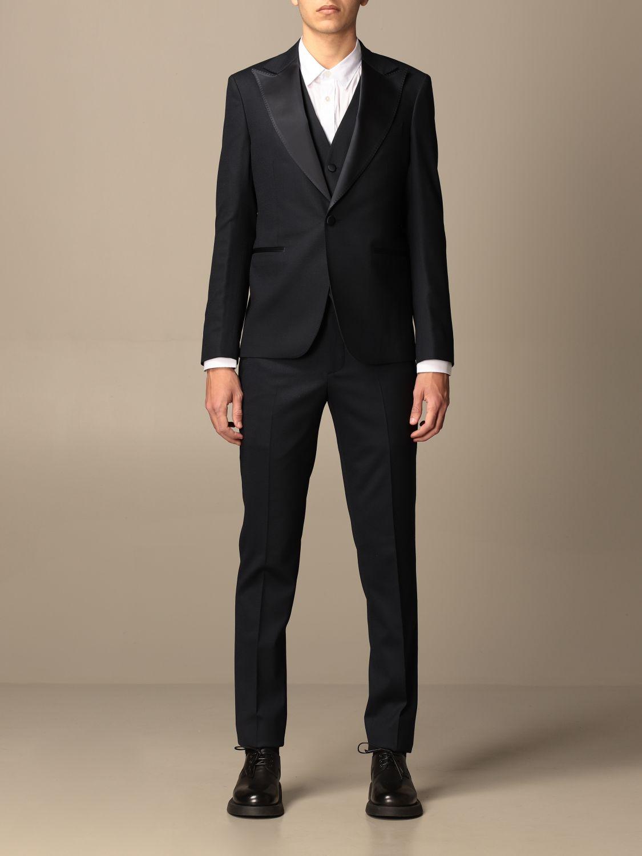 Suit Brian Dales: Suit men Brian Dales blue 1