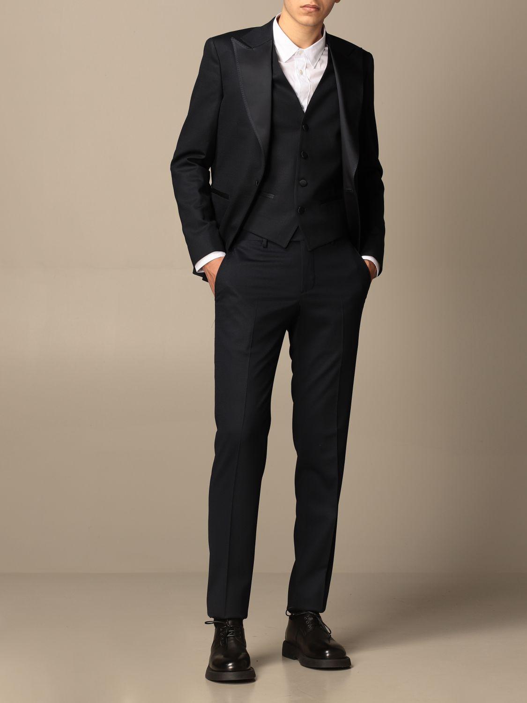 Suit Brian Dales: Suit men Brian Dales blue 2