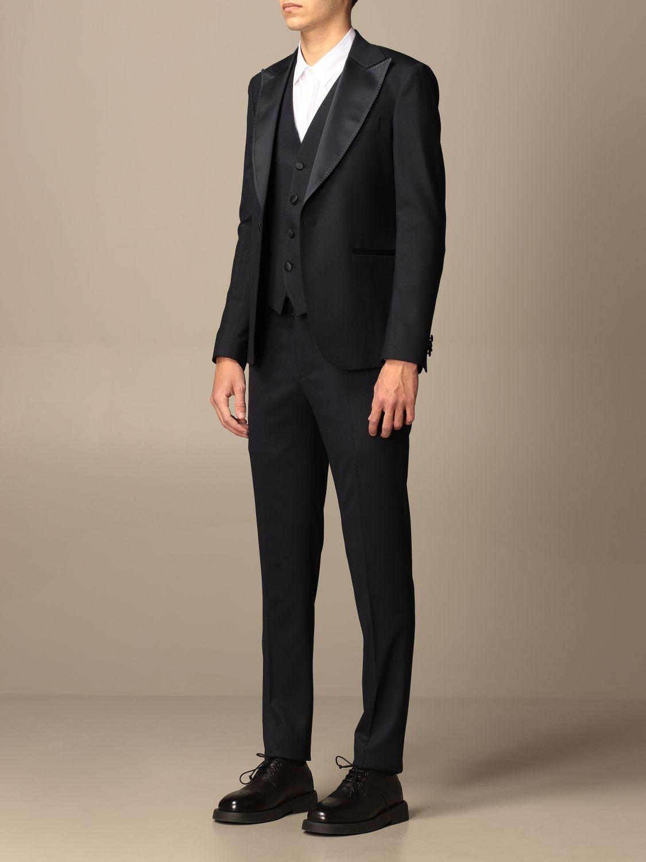 Suit Brian Dales: Suit men Brian Dales blue 4