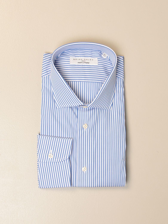 Chemise Brian Dales Chemises: Chemise homme Brian Dales Camicie bleu azur 1