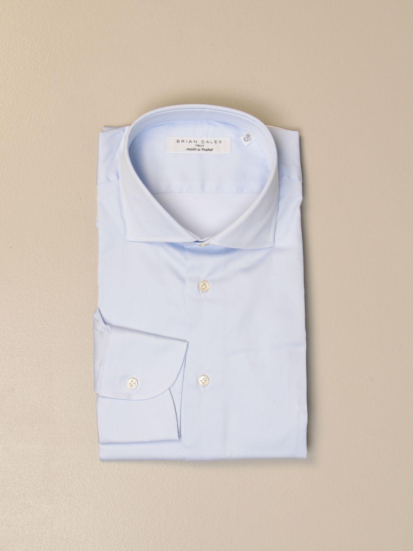 Shirt Brian Dales Camicie: Gorgo Brian Dales shirt Cotton shirts gnawed blue 1