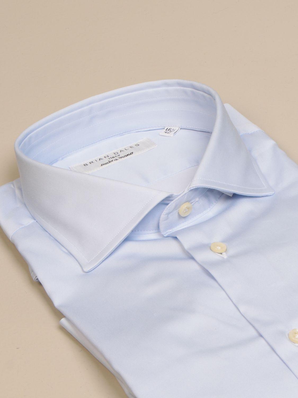 Shirt Brian Dales Camicie: Gorgo Brian Dales shirt Cotton shirts gnawed blue 2