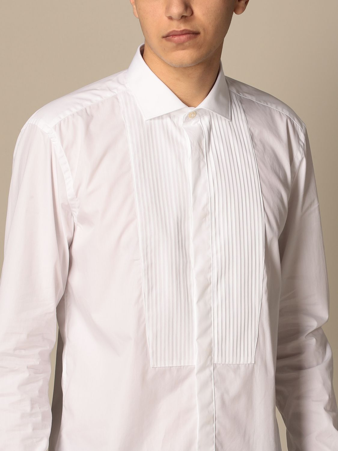 Chemise Brian Dales Chemises: Chemise homme Brian Dales Camicie blanc 4