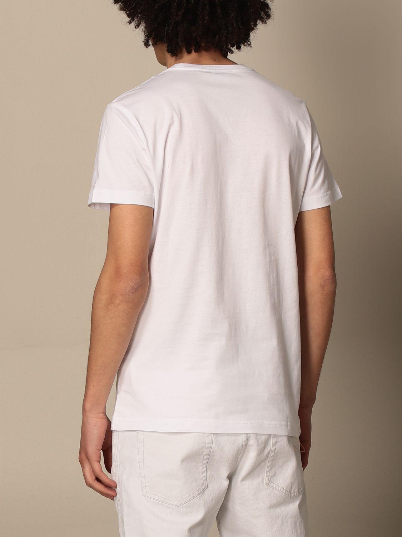 T-shirt Diesel: Diesel cotton t-shirt with logo white 1 2
