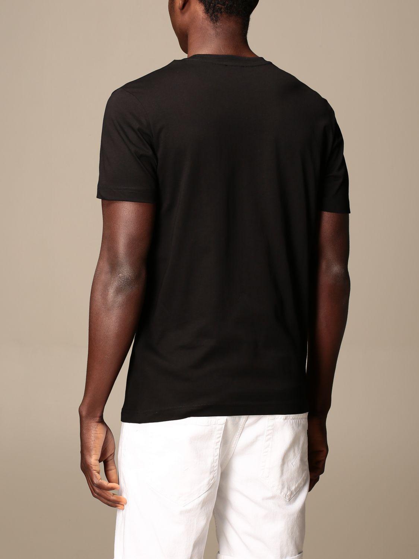 T-shirt Diesel: Diesel cotton t-shirt with logo black 3