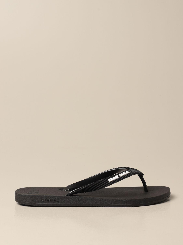 Sandalias Diesel: Zapatos hombre Diesel negro 1